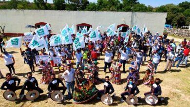 Photo of Candidato de Nueva Alianza en Nopala realiza su cierre de campaña