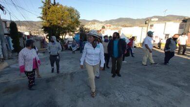Photo of Visita de la candidata Dulce Sánchez a los vecinos de la 11 de julio y Providencia