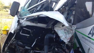 Photo of Autobús AVM se impacta contra camioneta; reportan 6 lesionados y dos personas muertas