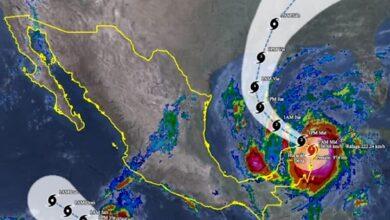 Photo of Delta mantendrá lluvias puntuales torrenciales en el norte de Quintana Roo y el oriente de Yucatán