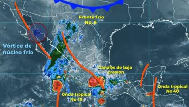 Photo of Se pronostica para este lunes lluvias fuertes para zonas de Hidalgo: Conagua