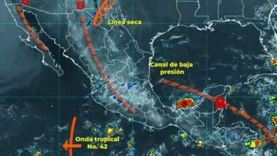 Photo of Se pronostican lluvias puntuales fuertes para Campeche, Chiapas, Quintana Roo, Tabasco y Yucatán