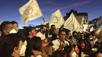 Photo of Con un mensaje de unidad cierran Crespo y Orona su campaña
