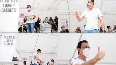Photo of Jornada electoral en un ambiente de paz social y tranquilidad, con incidentes menores: Omar Fayad