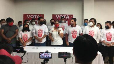 Photo of Jóvenes militantes del PESH manifiestan decidido apoyo a la candidata del PRI, Adela Pérez