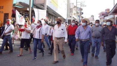 Photo of Unión de Ejidos y Comunidades de la Huasteca refrendan apoyo a Adela Pérez