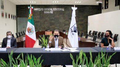 Photo of Lorenzo Córdova realiza visita al IEEH, sostiene reunión de trabajo con Consejeras y Consejeros