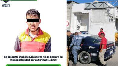 Photo of Policía de Hidalgo detiene a presunto asaltante en Central de Abasto de Pachuca