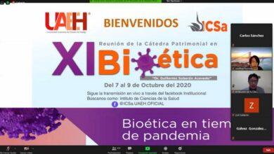 Photo of Inició en la UAEH XI Cátedra Patrimonial en Bioética