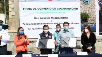 Photo of PIBEH firma convenio laboral en beneficio de habitantes de Metzquititlán