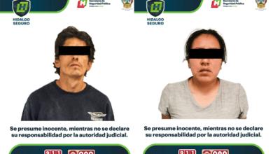 Photo of Detienen a dos personas por presuntos robos en Hidalgo