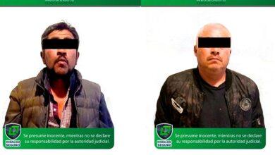 Photo of Detienen a dos por intento de asalto a taxista en Hidalgo