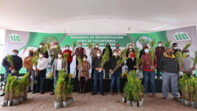 Photo of Realizan programa de reforestación: Suma de voluntades, sembremos un árbol