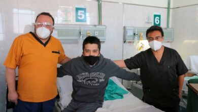 Photo of Tras dos meses con Covid 19, hombre se recupera en Hospital General de Pachuca