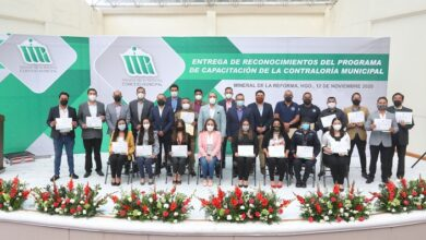 Photo of Entregan reconocimientos a empleados de nuevo ingreso en Mineral de la Reforma