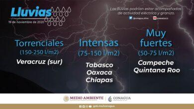 Photo of Se prevén intervalos de chubascos en Hidalgo