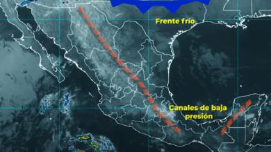 Photo of Se pronostican lluvias fuertes para Chiapas, Oaxaca, Quintana Roo y Tabasco