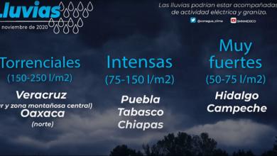 Photo of Pronostican lluvias muy fuertes y posibles heladas en Hidalgo