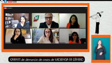 "Photo of Presentan ""Carnet de denuncia de casos de Violencia de Género"""