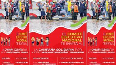 Photo of PRI Nacional y Comités Estatales se convierten en centros de acopio para ayudar a familias de Tabasco y Chiapas