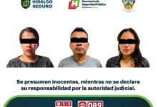 Photo of Detienen a tres personas presuntamente relacionadas con homicidio en Zempoala