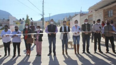 Photo of Fernando Lemus, inauguró pavimento y drenaje sanitario en colonias de Tulancingo
