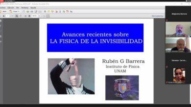 Photo of Expone investigador avances sobre la física de la invisibilidad en UAEH