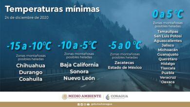 Photo of Se prevén posibles heladas en Hidalgo
