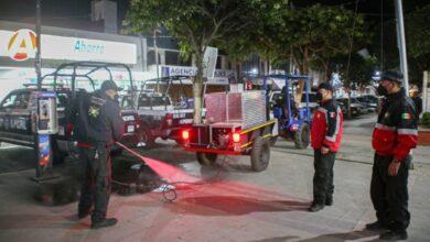 Photo of Continúa Protección Civil de Tulancingo con desinfección de espacios públicos
