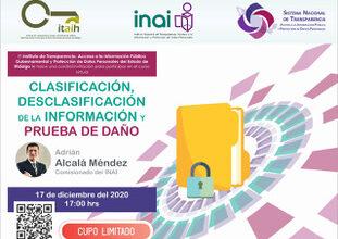 Photo of Invita ITAIH a sujetos obligados a participar en curso virtual