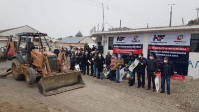 Photo of Inician pavimentaciones hidráulicas en localidades de Epazoyucan