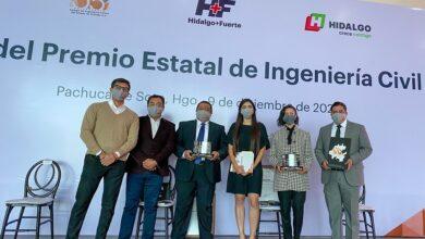 Photo of Obtienen dos académicos de la UAEH Premio Estatal de Ingeniería Civil 2020