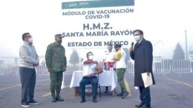 Photo of Aplica ISSSTE y Ejército Mexicano la primera vacuna contra el Covid-19 en el estado de México