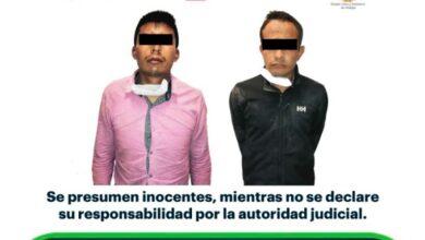Photo of Policía de Hidalgo detiene a dos tras presunto robo en Pachuca