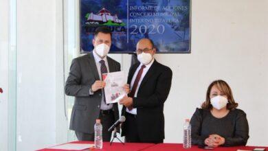 Photo of Presidente del Concejo de Tizayuca rinde su informe de gobierno