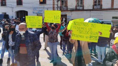 Photo of Se manifiestan comerciantes de Pachuca por cierre de sus negocios