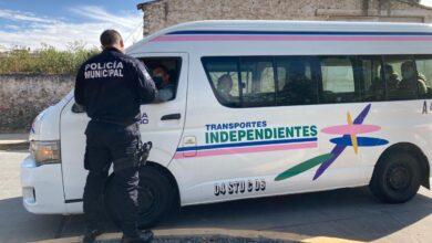 Photo of Refuerzan medidas sanitarias en transporte público en Santiago Tulantepec