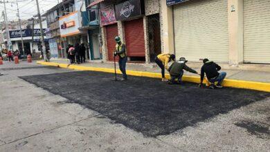 Photo of Realizan trabajos de mantenimiento en calles de Tulancingo