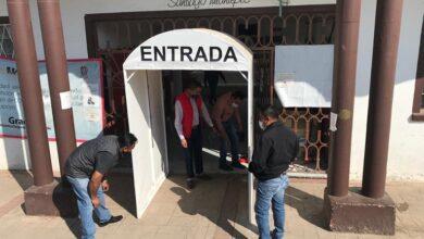 Photo of Refuerzan medidas sanitarias por SARS-CoV-2 en Santiago Tulantepec