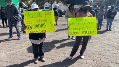 Photo of Habitantes de Tizayuca piden servicios básicos