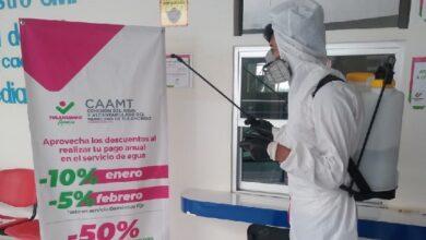 Photo of Fortalece CAAMT medidas sanitarias para prevención de Covid-19